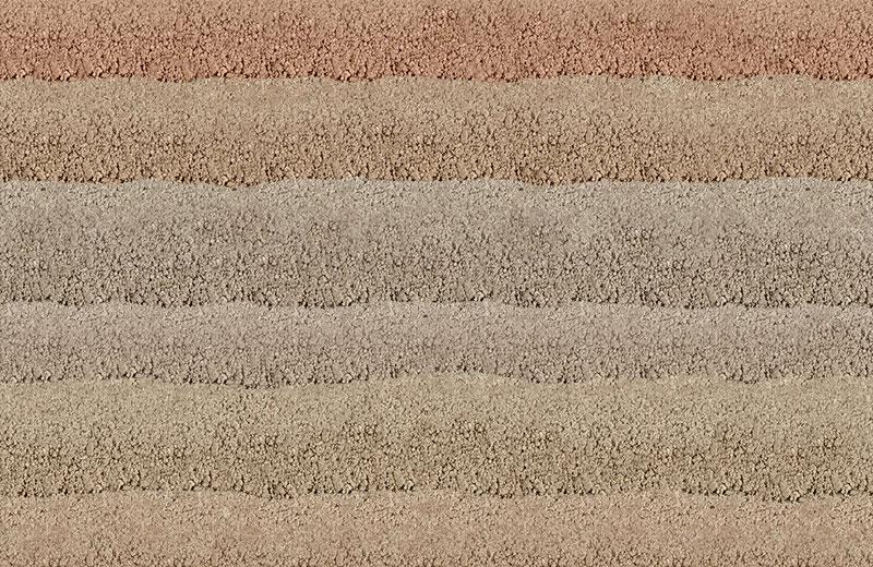 现代彩色肌理夯土墙HT-C3A02