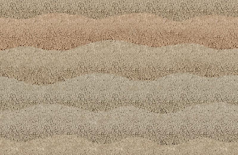 现代彩色肌理夯土墙HT-C3B05