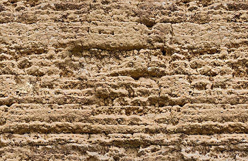 仿古残破肌理夯土墙HTS-D1C12