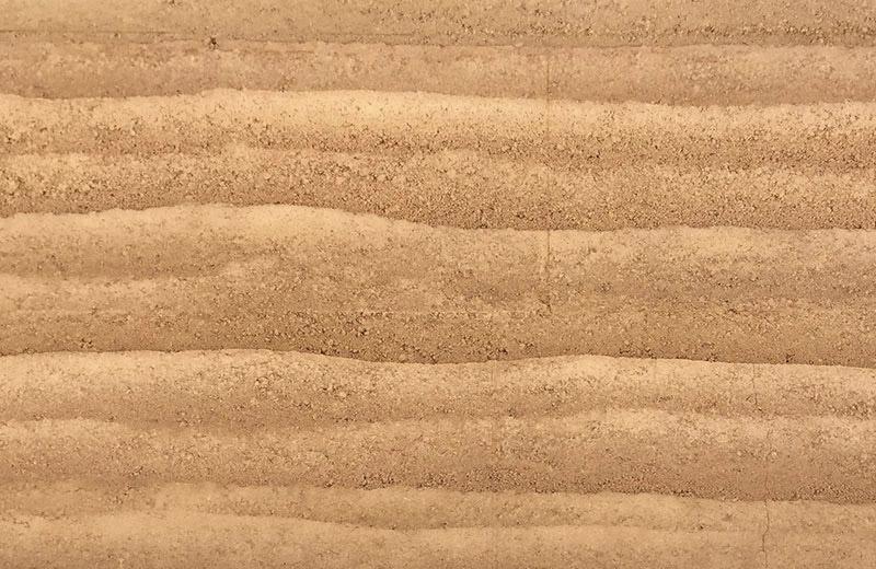 现代单色肌理夯土墙HT-D1A01