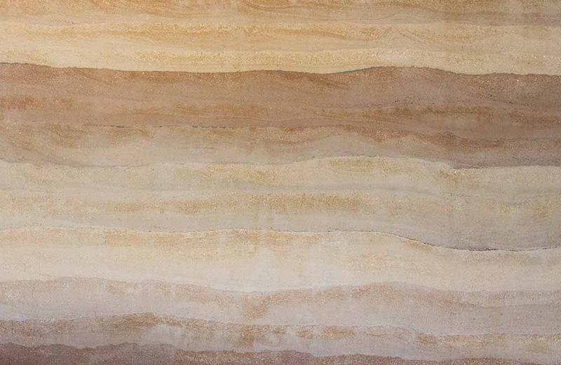 现代彩色肌理夯土墙HT-C2A08