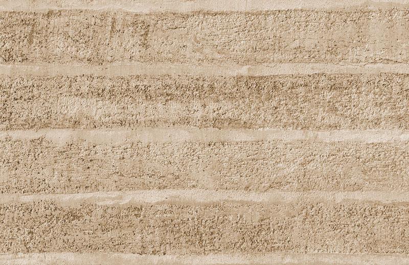 仿夯层肌理夯土墙HTS-D1A20