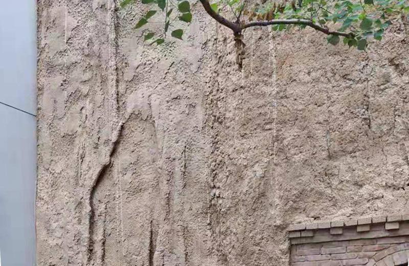 夯土装饰面-仿崖壁