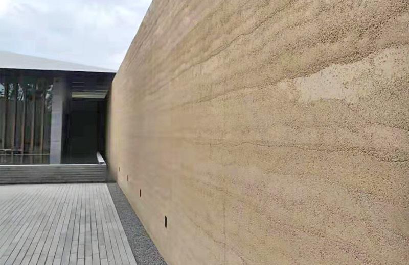 夯土实体墙