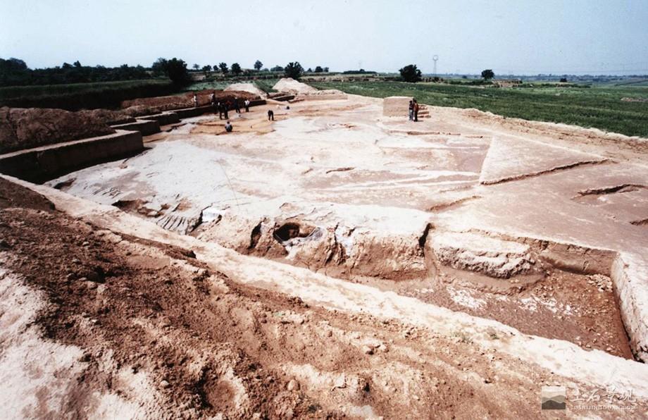 陶寺古观象台基址夯土墙