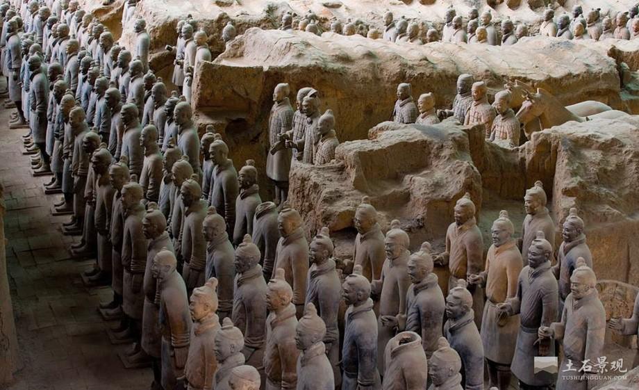 秦始皇陵夯土墙