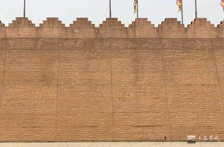 大明宫夯土挂板