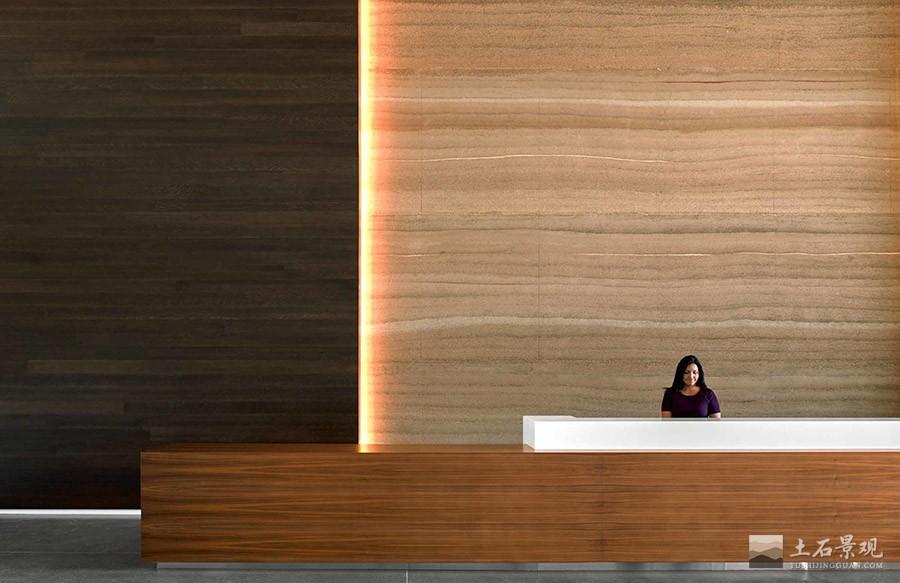 新型夯土墙挂板