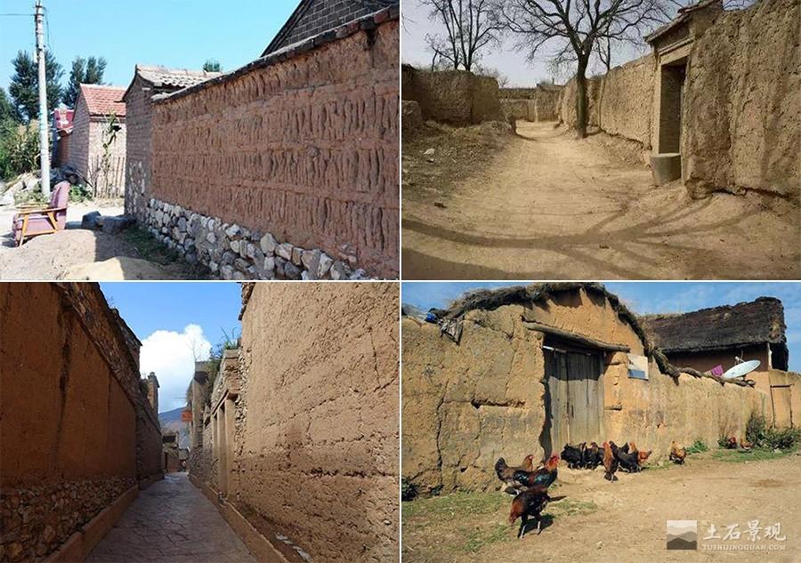 农村土围墙