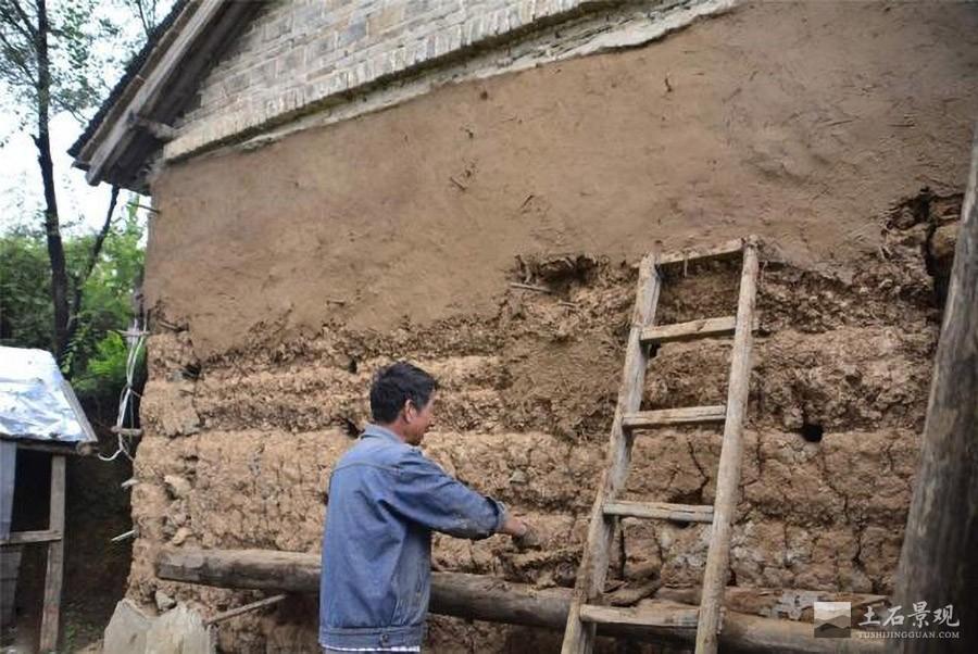 土墙墙面处理