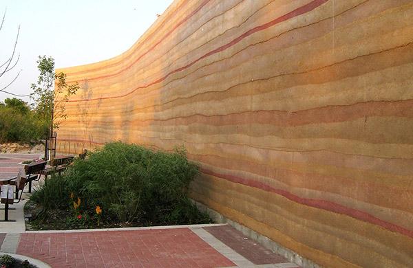 新型夯土墙设计施工