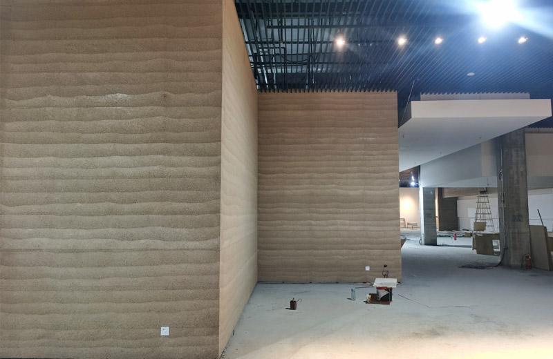 博物馆夯土墙项目